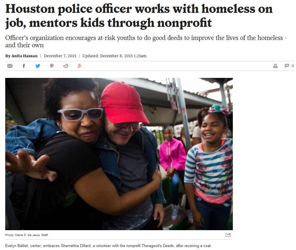 Houston Chronicle Good Deeds News