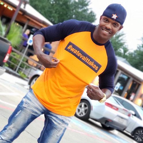 Orange/Blue T-Shirt