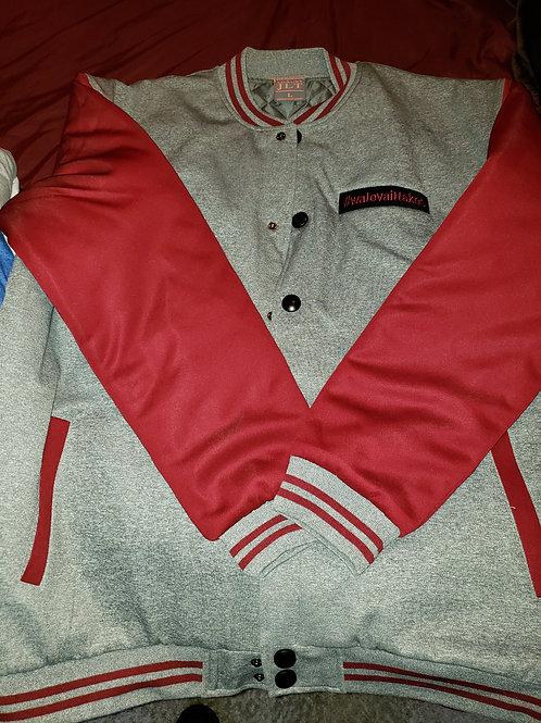 Maroon/Gray Jacket