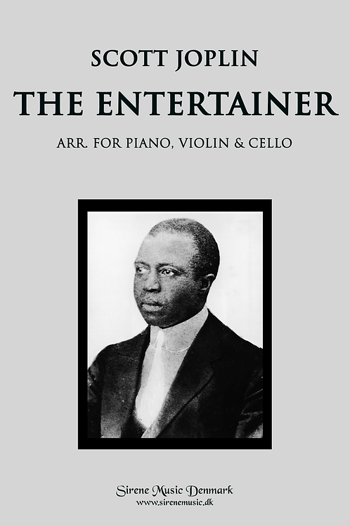 The Entertainer arr. for piano trio