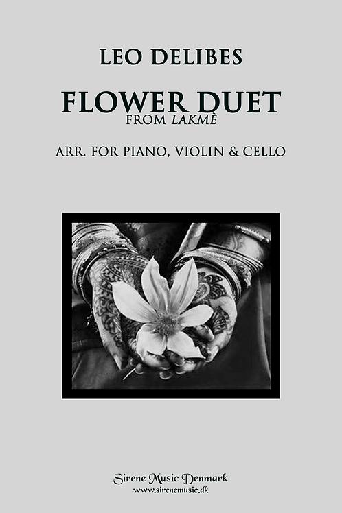 Lakmé Flower Duet arr. for piano trio