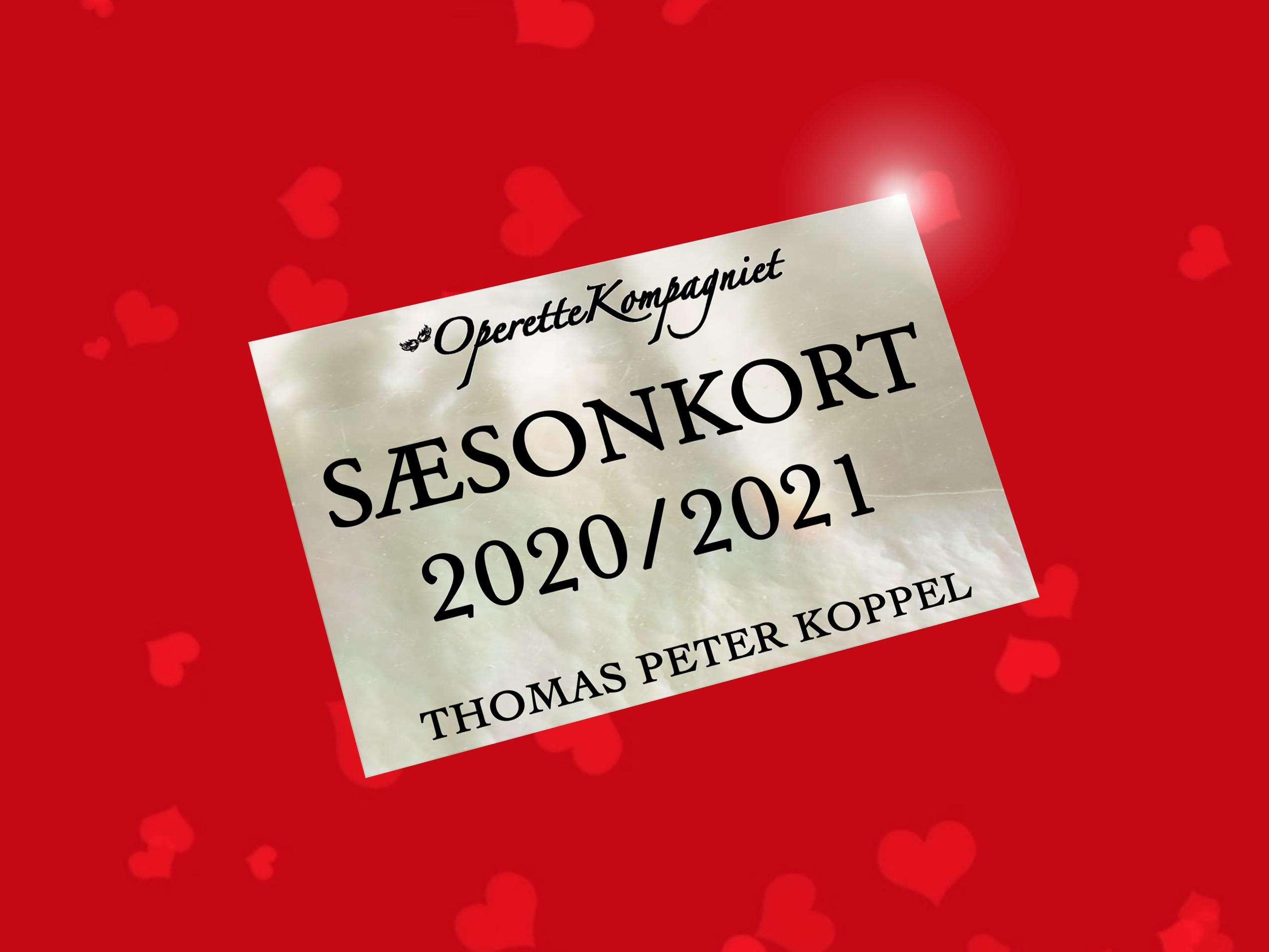 SÆSONKORT 2020/2021 - flere modeller