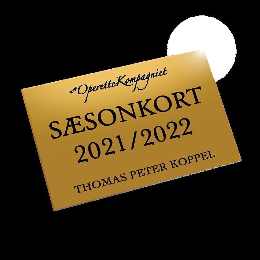 SÆSONKORT 2021/2022 - flere modeller