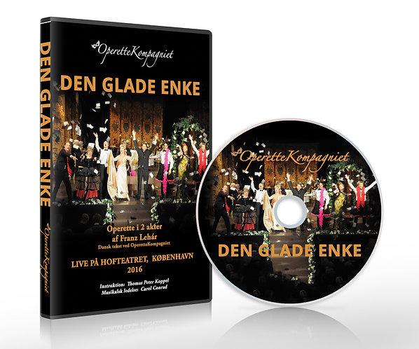 Den Glade Enke - DVD, Live på Hofteatret