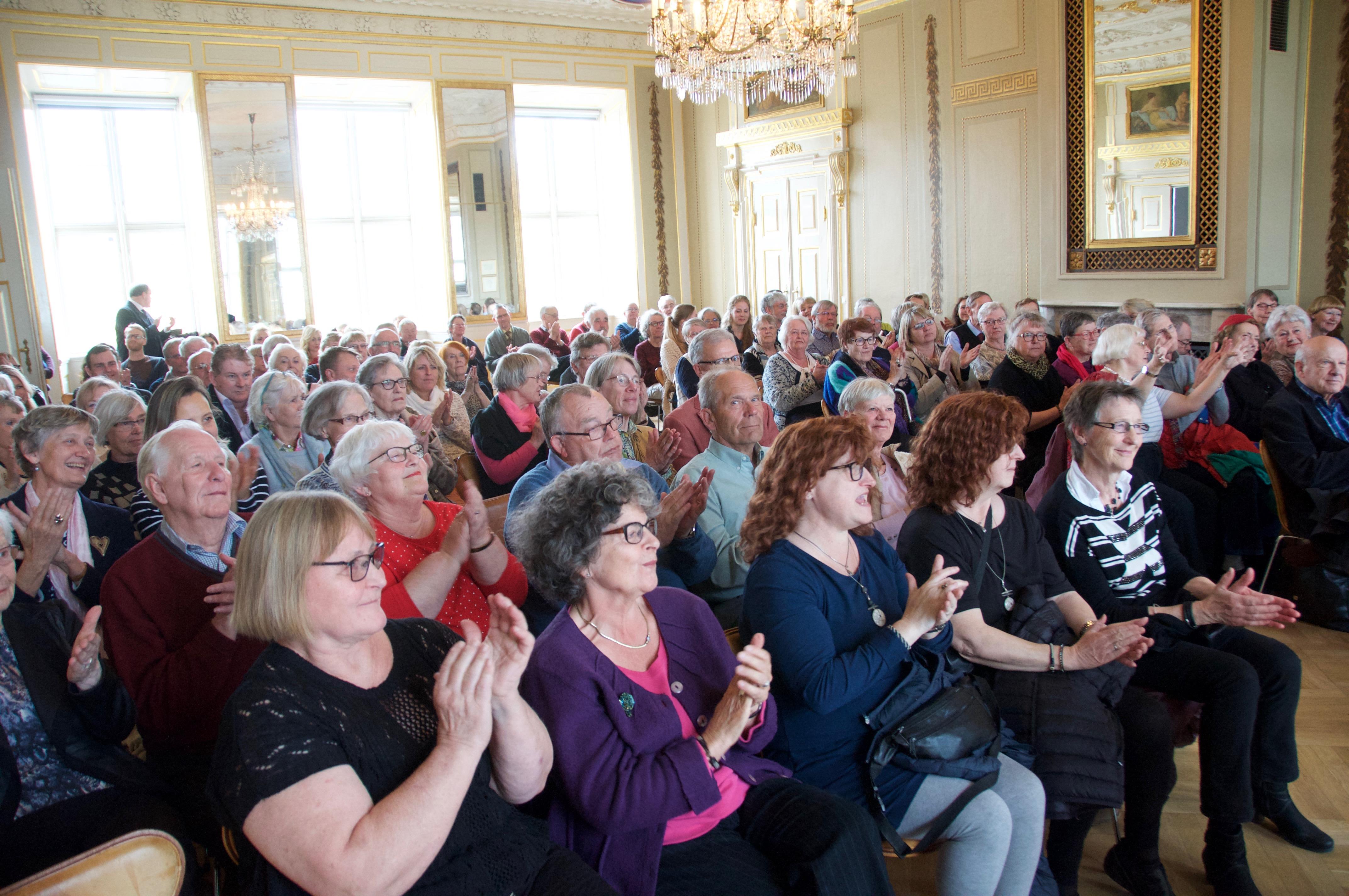 Fantastisk publikum!