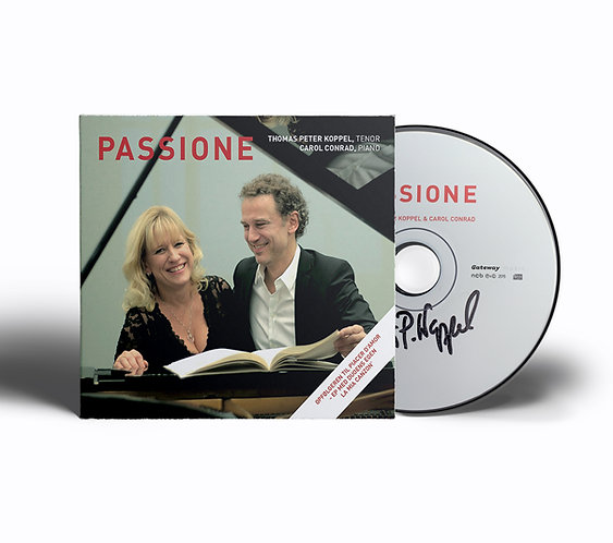 Passione - CD, signeret