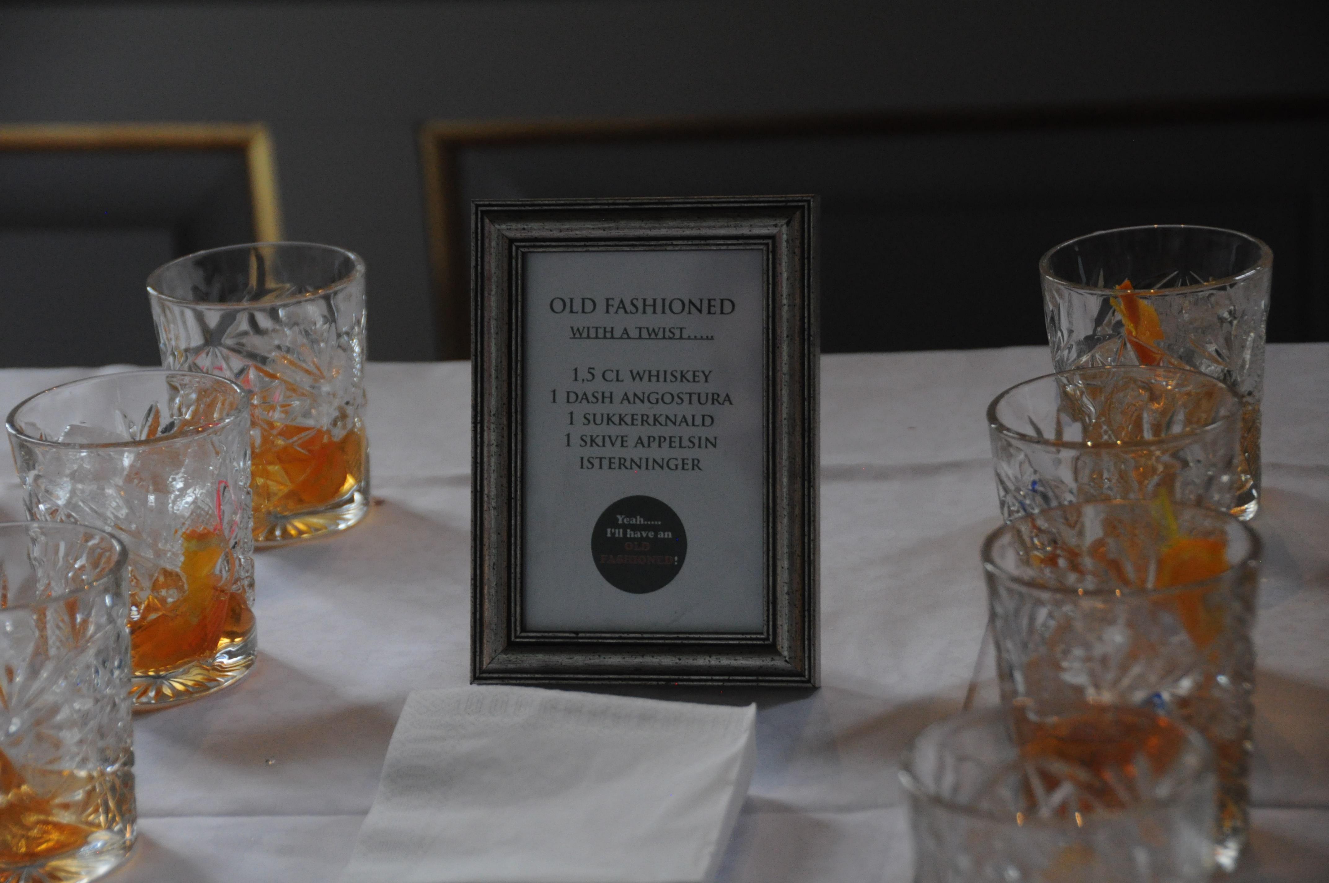 Opskrift på Old Fashioned