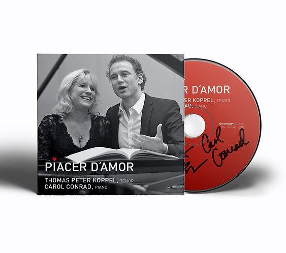 Piacer d'Amor - CD, signeret