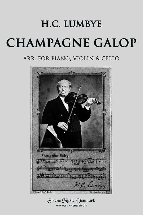 Champagne Galop for piano trio