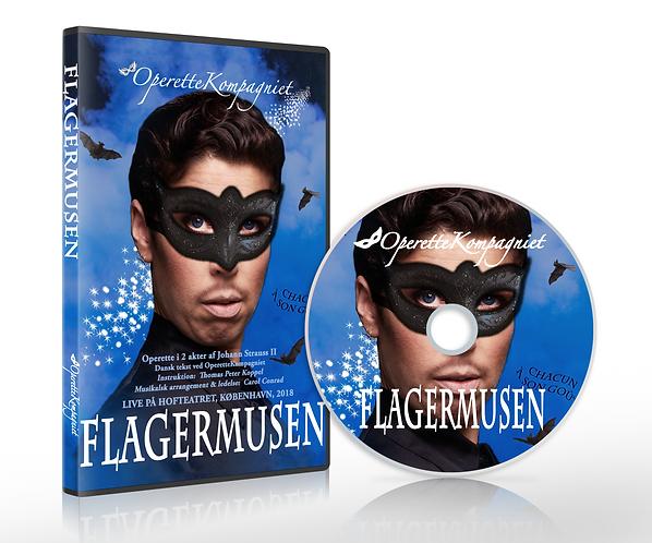 Flagermusen - DVD, Live på Hofteatret