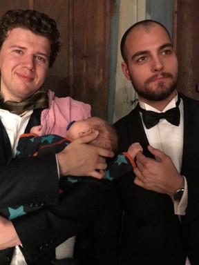 mand & en baby