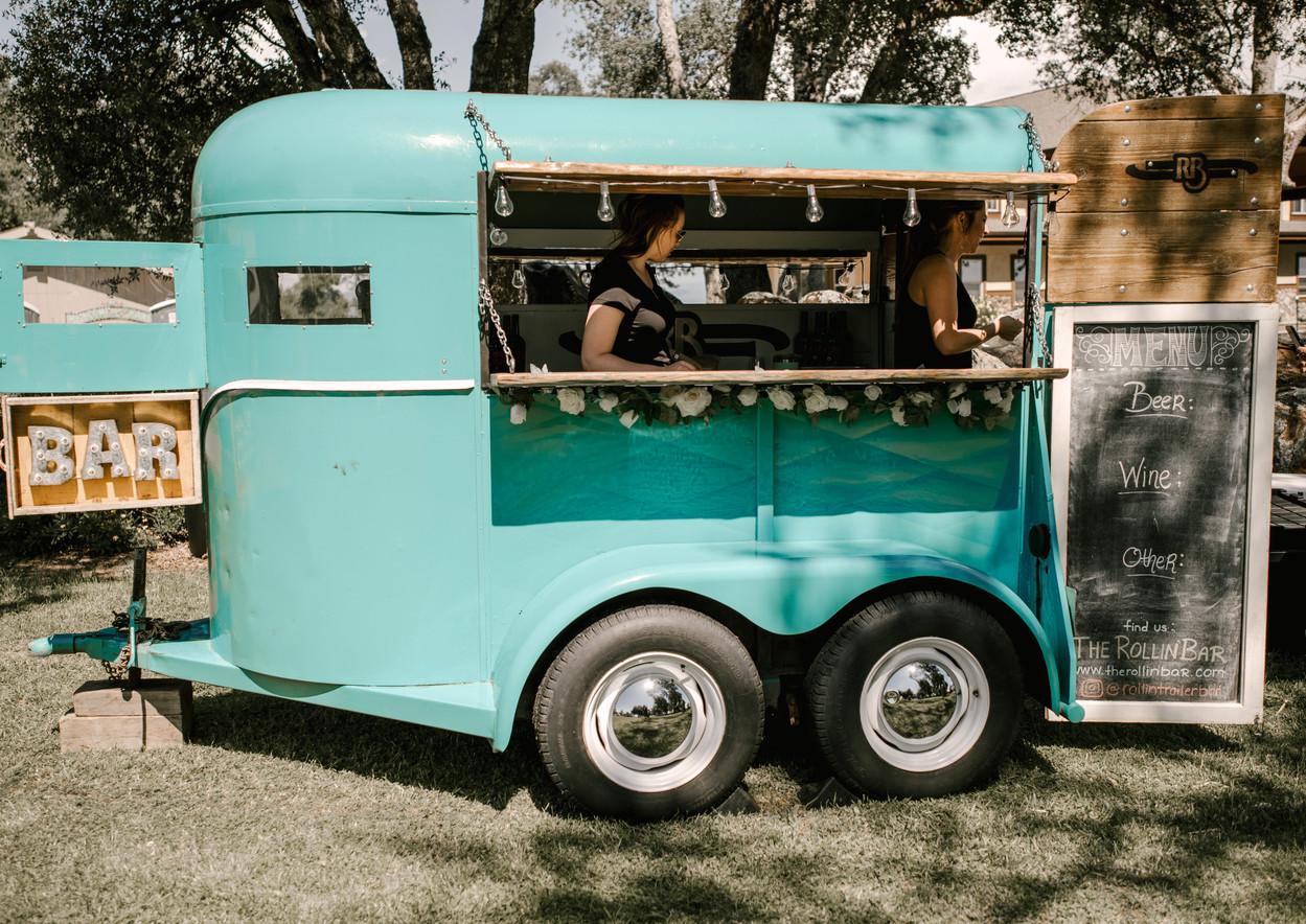 horse trailer bar