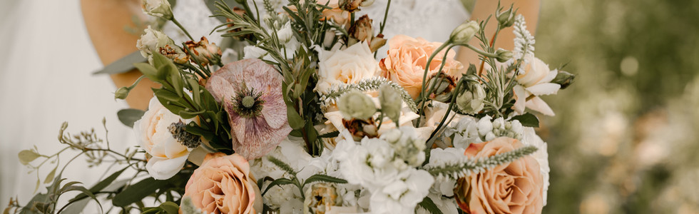 Vintage bride's bouquet