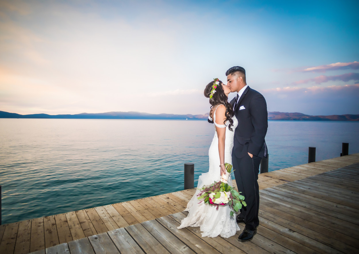 newlywed photos tahoe