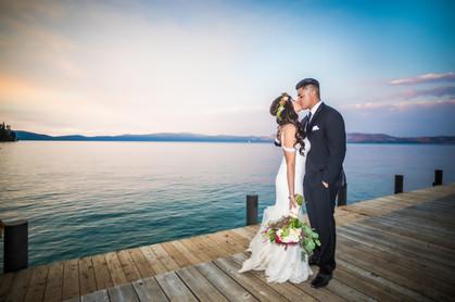 newlywed photos tahoe