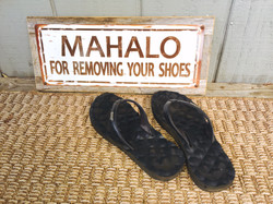 no shoes inside policy