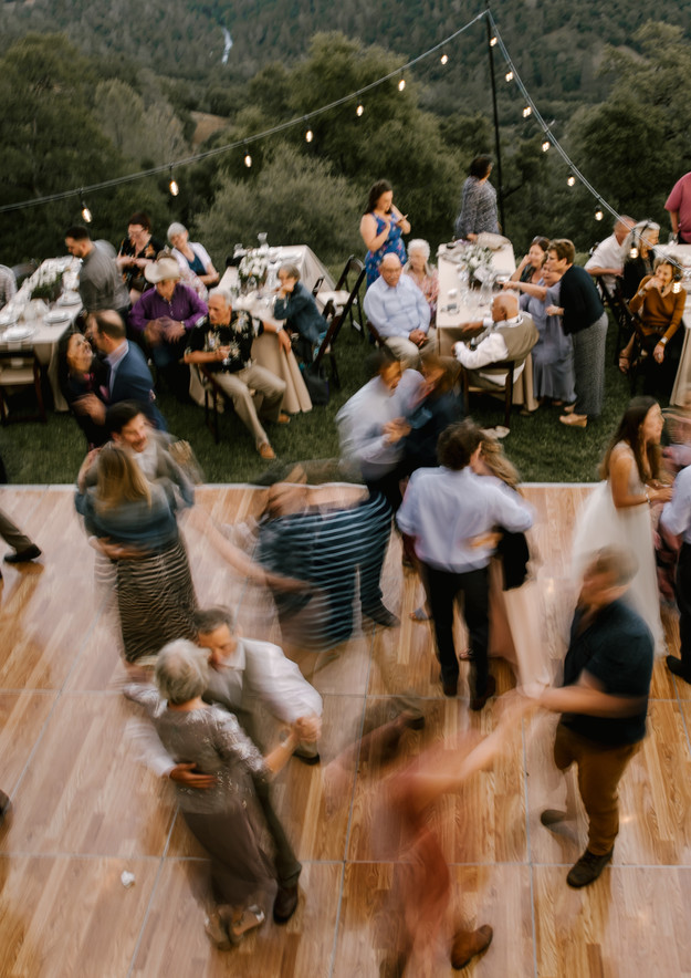 country dance floor
