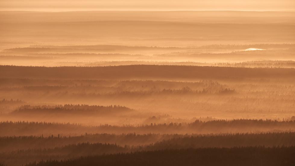 Levi Tunturi- Early morning