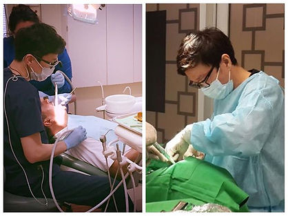 A general dentist, Dr. Eugene Lim, provides general, cosmetic, and implant dentistry.