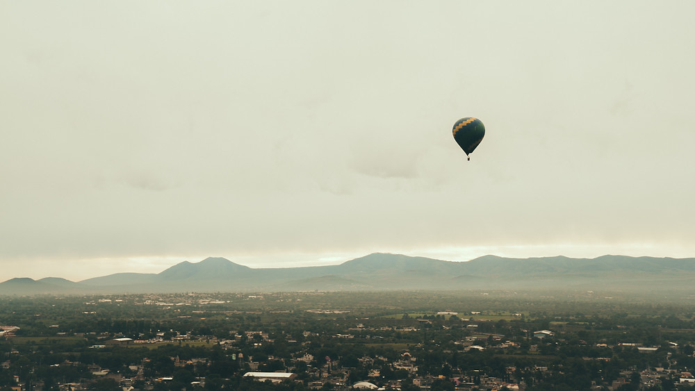 Teotihuacan Hot air balloon tours