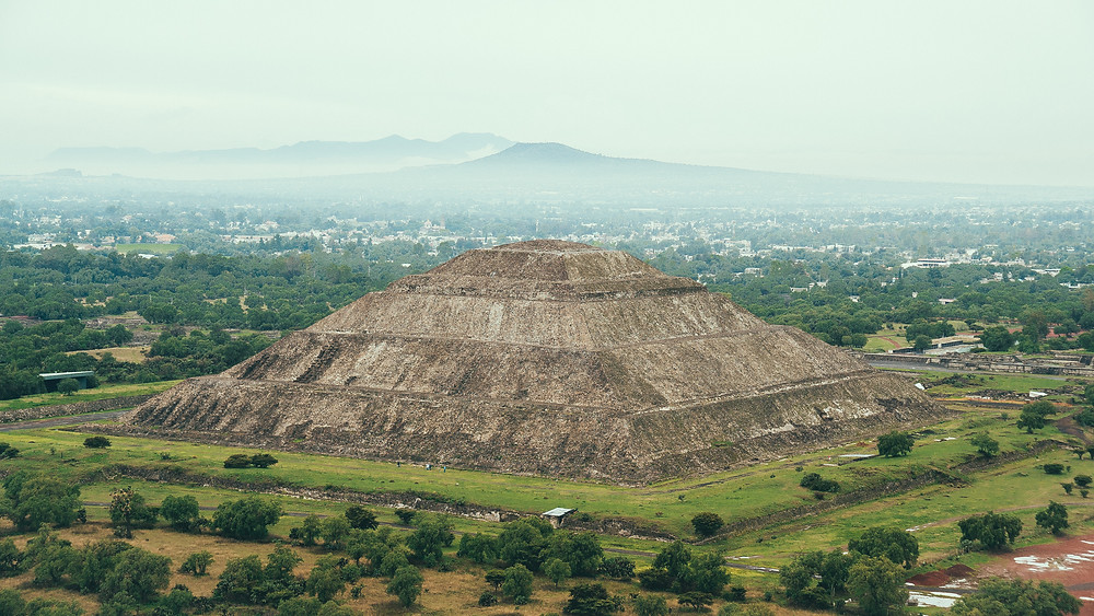 Hot Airballoon Teotihuacan