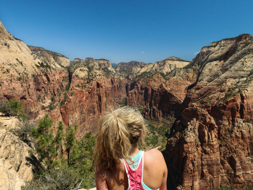 Angels Landing- Communing with Angels