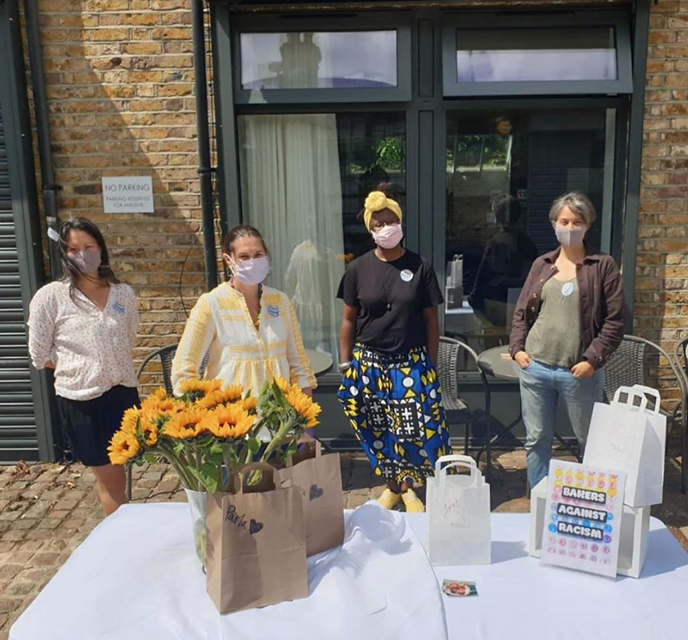 At the Bakers Against Racism sale, 20 June 2020