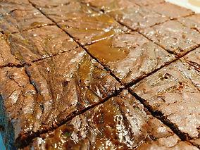 Den Bake Shop Salted Caramel Brownies