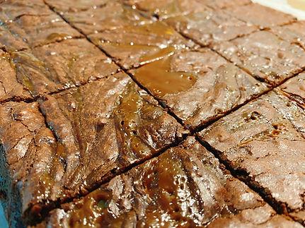 Salted caramel almond brownies.JPG