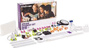 littleBits STEAM student set bits