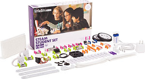 The littleBits STEAM Student kit.