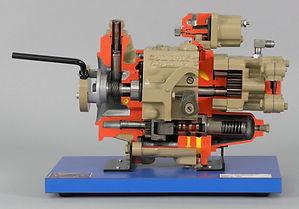 ATech Model 6682 Diesel Rotary Pump Cutaway