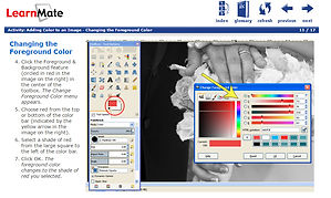 Intelitek exploring communication learnmate digital photo edit graphic design video