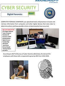 Digital Forensics flyer