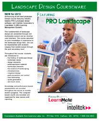 landscape design course curriculum applied technologies pro