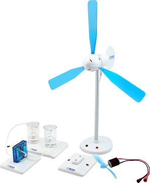 Horizon Educational Wind Hydrogen Science Kit clean energy fuel cell electrolysis pem