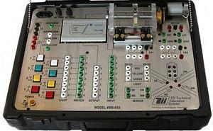 tii MB655ML - Principles Of PLCs w/ Built-in Applications (RSlogix500) allen bradley micrologix1000