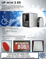 UP mini 2 ES brochure cover