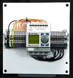 tech skills international allen bradley programmable logic module draw out unit