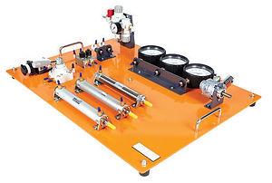 Mobile Modular Pneumatics Training System
