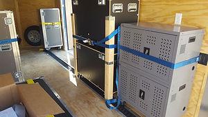 Stored equipment