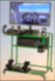 stempilot basic flight simulator yoke rudder throttle quad controls