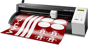 Roland DG CAMM-1 GS-24 desktop vinyl sign cutter