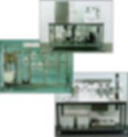 hampden engineering fluid refrigeration trainer panel demonstrator pressure