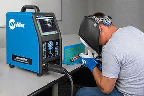 Miller augumentedarc welding trainer reality ar student