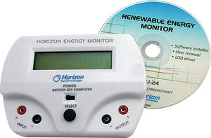 Horizon Educational Renewable Energy Monitor voltage current power joules rpm