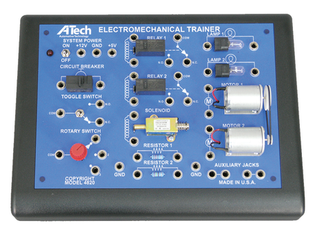 Product Focus:  ATech Electromechanical Trainer