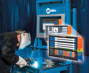miller livearc, reality, welding, trainer, performance, management, system