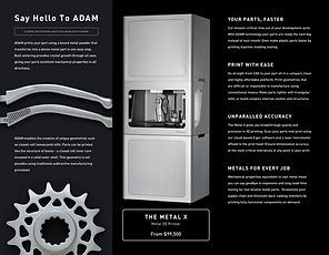 MarkForged Metal X brochure
