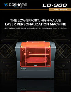 Roland DG LD-300 laser decorator brochure
